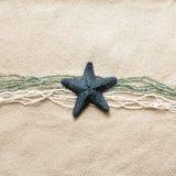 Zeester op overzees zand Stock Fotografie