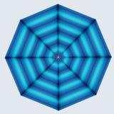 Zeester uit gradiënt gekleurde kegels wordt gemaakt die Vector Illustratie