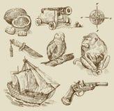 Zeevaart inzameling Stock Foto