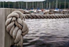 Zeevaart Knoop Royalty-vrije Stock Afbeelding