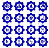 Zeevaart pictogram Royalty-vrije Stock Foto's