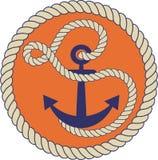 Zeevaartembleem Stock Foto's