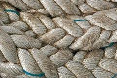 Zeevaartkabel/dichte omhooggaand Stock Foto's