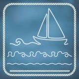 Zeevaartkabelgrenzen Royalty-vrije Stock Fotografie