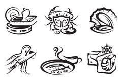 Zeevruchten vector illustratie