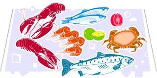 Zeevruchten Stock Afbeeldingen