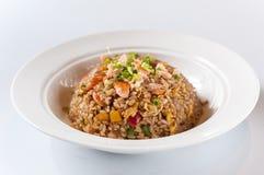 Zeevruchten gebraden rijst Royalty-vrije Stock Fotografie