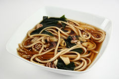Zeevruchten Japanse soep Stock Foto's
