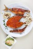 Zeevruchtenschotel van Goa, India Royalty-vrije Stock Fotografie
