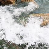 Zeewater vrije vrijheid Royalty-vrije Stock Foto