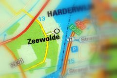 Zeewolde, Flevoland, the Netherlands - Europe. Zeewolde, town in the Flevoland province in the central Netherlands selective focus Royalty Free Stock Photography
