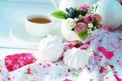 Zefier een kop thee Royalty-vrije Stock Fotografie