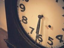 Zegarów szczegóły pamięć i czasu rocznika brzmienie Fotografia Stock