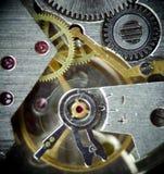 zegar 2 makro super mechanizmu Zdjęcie Stock