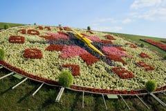zegar 3 kwiat Obrazy Royalty Free