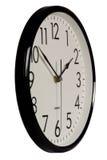 zegar analogowy proste Zdjęcie Royalty Free