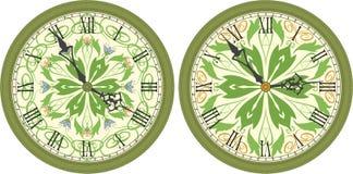 zegar antique do ściany Fotografia Stock