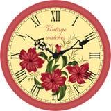 zegar antique do ściany Ilustracji