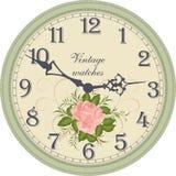 zegar antique do ściany Obraz Stock