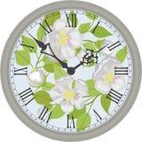 zegar antique do ściany Zdjęcie Royalty Free