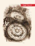 zegar astronomiczne Praga Fotografia Royalty Free