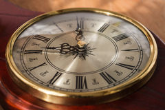 zegar cyfry rzymscy antykami Zdjęcia Royalty Free