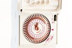 Zegar dla elektrycznego prądu Fotografia Royalty Free