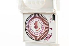 Zegar dla elektrycznego prądu Zdjęcia Royalty Free