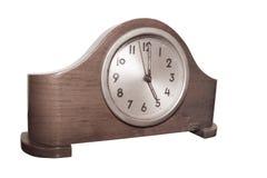 zegar drewniany fotografia royalty free