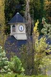 zegar góruje Zdjęcie Stock