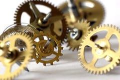 zegar gearwheels Fotografia Stock