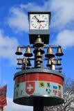 Zegar i Bell w Londyn Obrazy Royalty Free