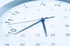Zegar i Kalendarz Obrazy Stock
