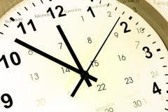Zegar i kalendarz Obrazy Royalty Free
