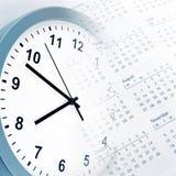 Zegar i Kalendarz Zdjęcia Stock