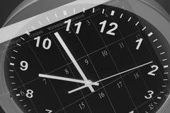Zegar i Kalendarz Fotografia Stock