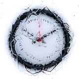 zegar marznący ilustracja wektor