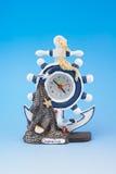 Zegar - morze atrybuty Zdjęcie Royalty Free