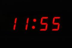 zegar o 12 Zdjęcie Royalty Free