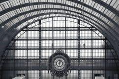 Zegar Orsay muzeum w Paryż Zdjęcie Royalty Free