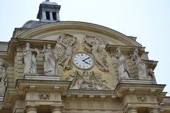 Zegar Palais Luksemburg Obrazy Royalty Free