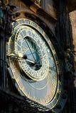 zegar Prague Zdjęcia Royalty Free