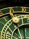 zegar Prague astronomiczne Zdjęcia Stock