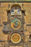zegar Prague astronomiczne Fotografia Stock