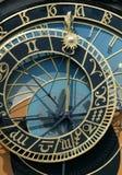 zegar Prague astronomiczne Obraz Royalty Free