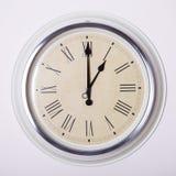 Zegar przy 1 godziną Zdjęcia Stock
