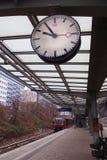 Zegar przy Landsberger Allee Zdjęcie Royalty Free