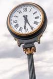 Zegar przy zjednoczenie stacją Kansas City Missouri obraz stock