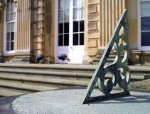zegar słoneczny pawi Fotografia Royalty Free
