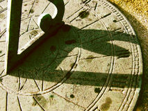 zegar słoneczny Zdjęcie Stock
